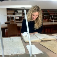 Reading 15th century French documents in the Nantes archives