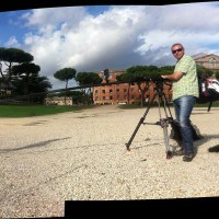 The crew on the Roman Circus Maximus