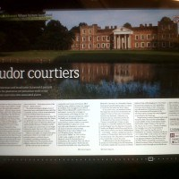 BBC history mag March 2012 Tudor courtiers page 1