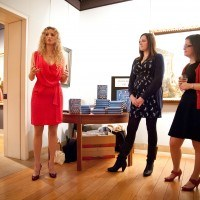 Suzannah Lipscomb with Kasi Collins and Liz Marvin