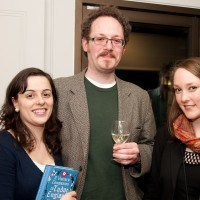 Claire Shuttleworth, Ross Lawhead and Paula Carson
