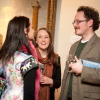 Angela Buttolph, Paula Carson and Ross Lawhead