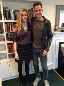 Suzannah Lipscomb and Dan Jones