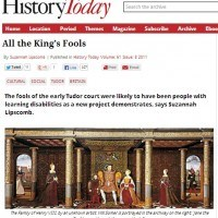 History Today - All the King's Fools