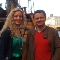 Suzannah Lipscomb, Chris Hollins, The Weather Show Live