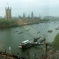 The Thames Jubilee Pageant from Westminster Tower