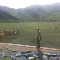 Dr Phil Harding on location at Coniston Coppermines