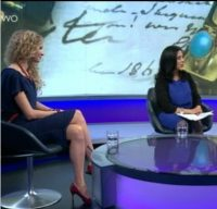On Newsnight discussing historic objects with KW August 2013