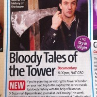 TV Times - Joe and axe
