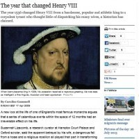 The year that changed Henry VIII - The Telegraph
